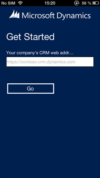 Dynamics CRM 2013 iPhone Client1