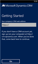 Dynamics CRM 2013 Windows Phone Client1